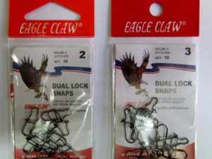 Eagle Claw Dual Lock Snaps