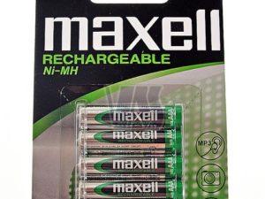 Maxell Baterija Punjiva R 03 840Mah