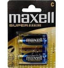 Maxell Baterija Lr 14 Blister Super Alkalna