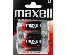 Maxell Baterija R 20 Blister