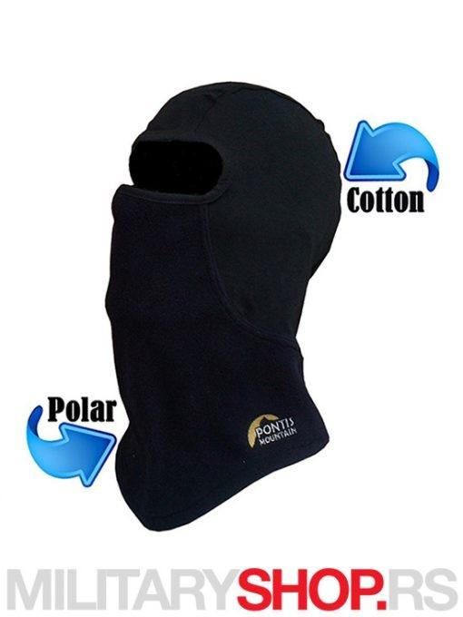 Crna potkapa Winter Polar Cotton